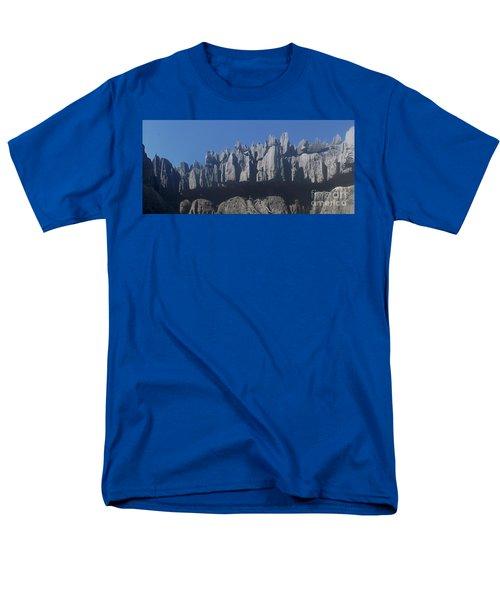 Men's T-Shirt  (Regular Fit) featuring the photograph Tsingy De Bemaraha Madagascar by Rudi Prott