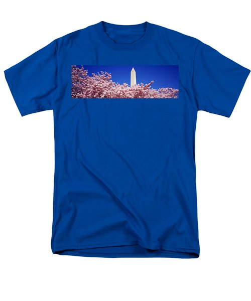 Washington Monument Washington Dc Men's T-Shirt  (Regular Fit) by Panoramic Images