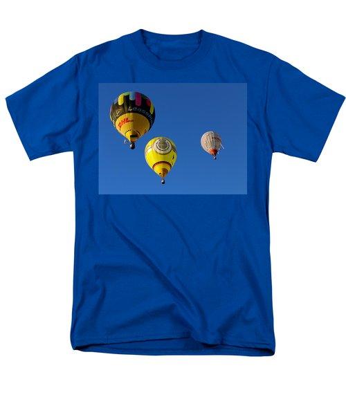3 Hot Air Balloon Men's T-Shirt  (Regular Fit) by John Swartz