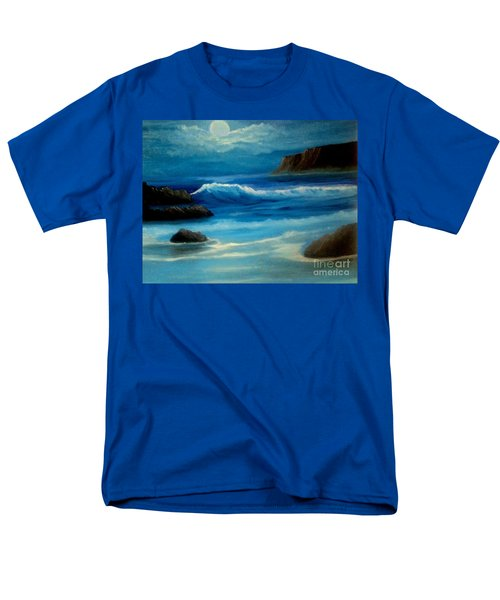 Men's T-Shirt  (Regular Fit) featuring the painting Illuminated by Holly Martinson