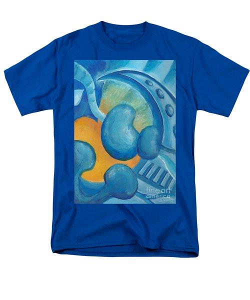 Abstract Color Study Men's T-Shirt  (Regular Fit)