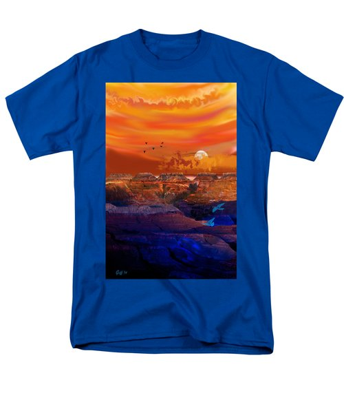 After The Storm Men's T-Shirt  (Regular Fit) by J Griff Griffin