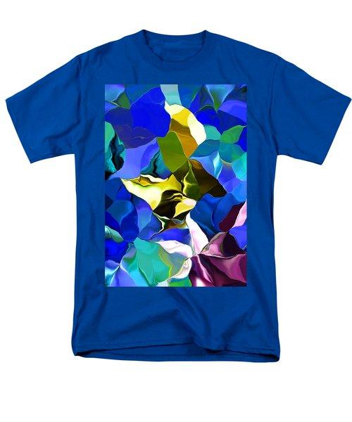 Afternoon Doodle 020215 Men's T-Shirt  (Regular Fit) by David Lane