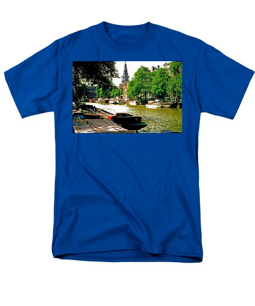Men's T-Shirt  (Regular Fit) featuring the photograph Amsterdam by Ira Shander
