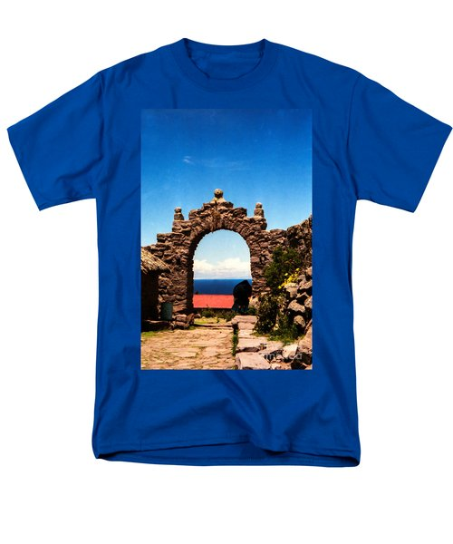 Ancient Portal Men's T-Shirt  (Regular Fit) by Suzanne Luft