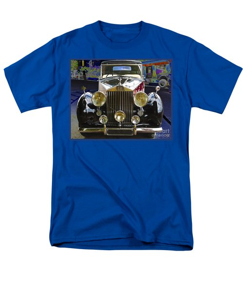 Antique Rolls Royce Men's T-Shirt  (Regular Fit) by Victoria Harrington