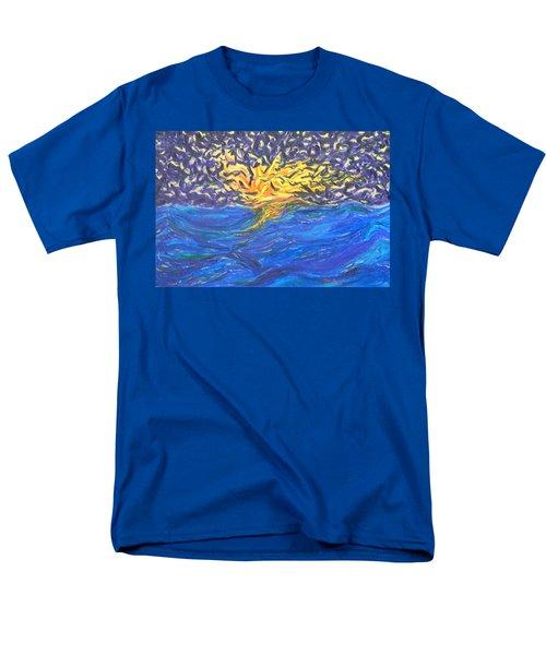 At Sea Men's T-Shirt  (Regular Fit) by Mark Minier