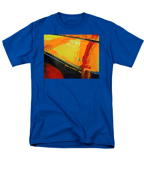 Abstract Composition No 2 Men's T-Shirt  (Regular Fit) by Walter Fahmy