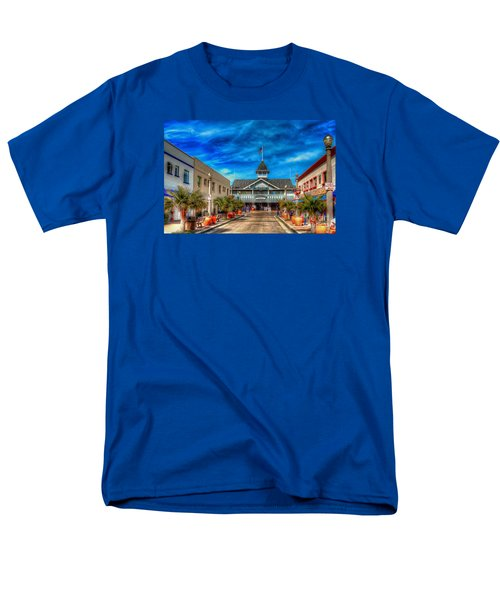 Men's T-Shirt  (Regular Fit) featuring the photograph Balboa Pavilion by Jim Carrell