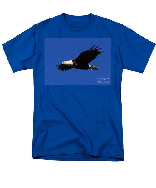 Bald Eagle Lock 14 Men's T-Shirt  (Regular Fit) by Paula Guttilla