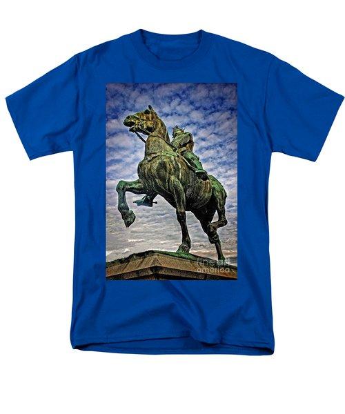 Men's T-Shirt  (Regular Fit) featuring the photograph Bertrand Du Guesclin by Elf Evans