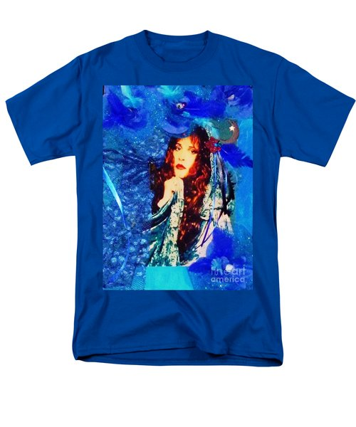 Bewitched In Blue Men's T-Shirt  (Regular Fit) by Alys Caviness-Gober