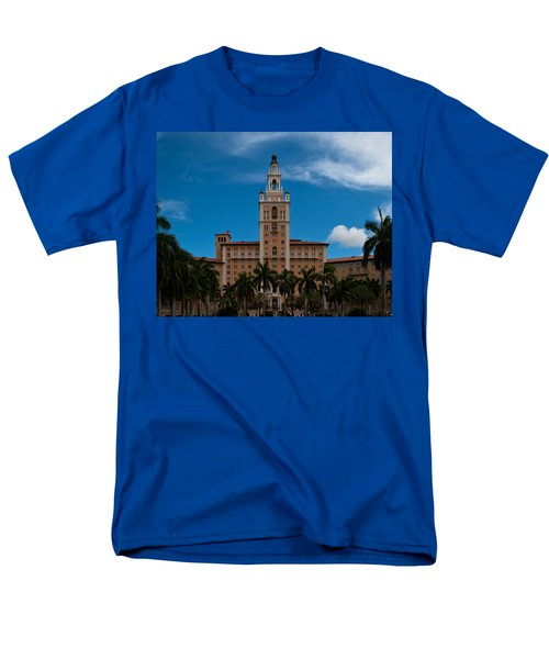 Biltmore Hotel Coral Gables Men's T-Shirt  (Regular Fit) by Ed Gleichman