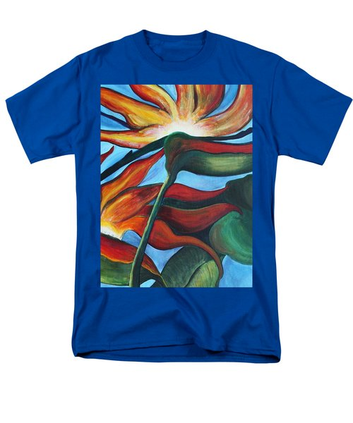 Bird Of Paradise Men's T-Shirt  (Regular Fit) by Jolanta Anna Karolska