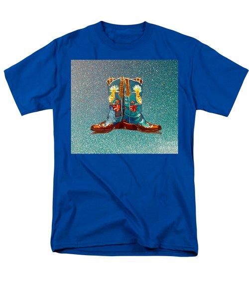 Blue Boots Men's T-Shirt  (Regular Fit) by Mayhem Mediums
