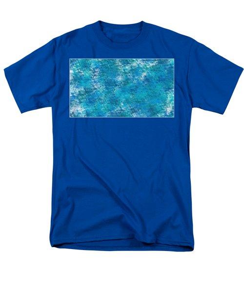 Men's T-Shirt  (Regular Fit) featuring the digital art Blue Haze... by Tim Fillingim