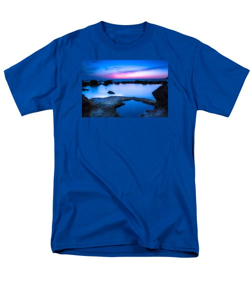 Men's T-Shirt  (Regular Fit) featuring the photograph Blue Hour by Edgar Laureano