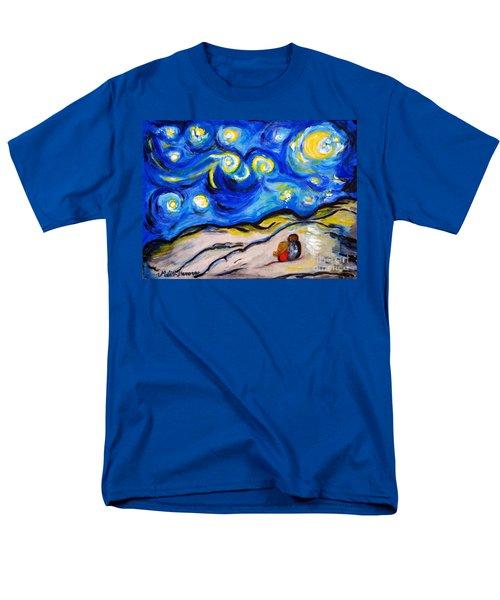 Blue Night Men's T-Shirt  (Regular Fit) by Ramona Matei