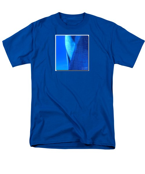 Men's T-Shirt  (Regular Fit) featuring the photograph Blue On Blue Cropped Version by Chris Anderson