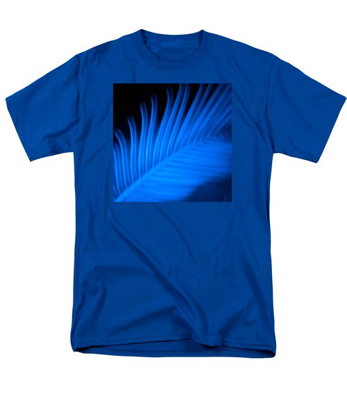 Men's T-Shirt  (Regular Fit) featuring the photograph Blue Palm by Darryl Dalton