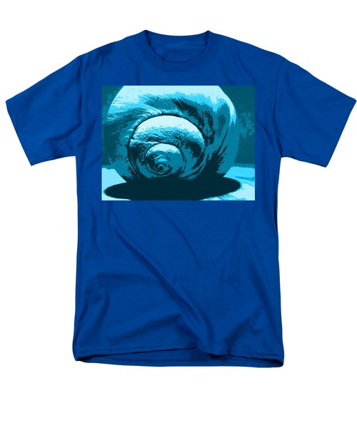 Blue Shell - Sea - Ocean Men's T-Shirt  (Regular Fit)