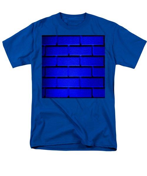 Blue Wall Men's T-Shirt  (Regular Fit) by Semmick Photo