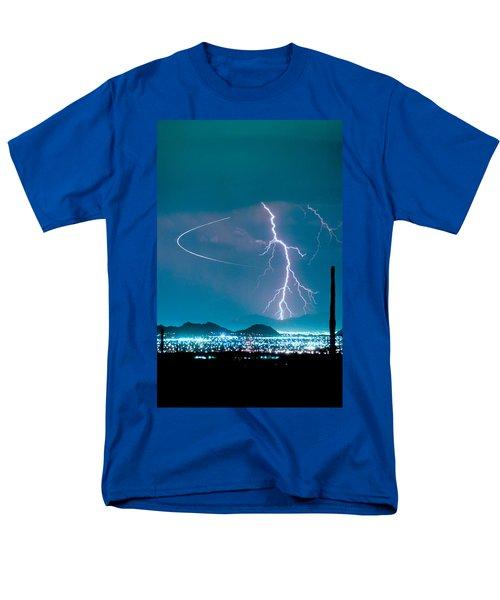 Bo Trek The Lightning Man Men's T-Shirt  (Regular Fit)