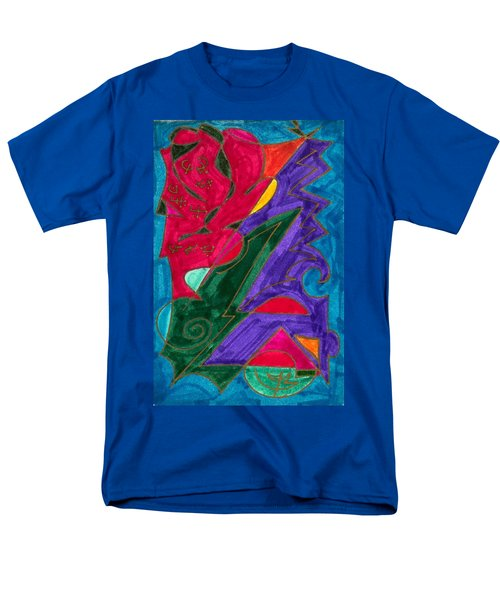 Men's T-Shirt  (Regular Fit) featuring the mixed media Body Zero # 5 by Clarity Artists
