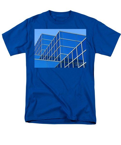 Boldly Blue Men's T-Shirt  (Regular Fit) by Ann Horn