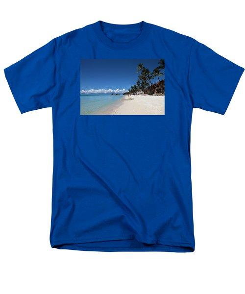 Boracay Beach Men's T-Shirt  (Regular Fit) by Joey Agbayani