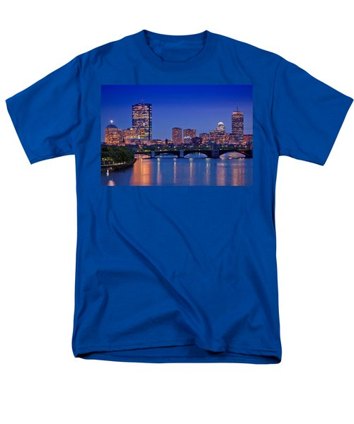 Boston Nights 2 Men's T-Shirt  (Regular Fit) by Joann Vitali