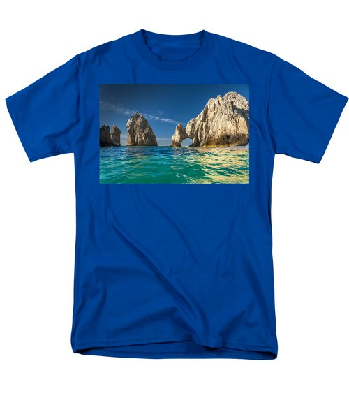 Cabo San Lucas Men's T-Shirt  (Regular Fit) by Sebastian Musial