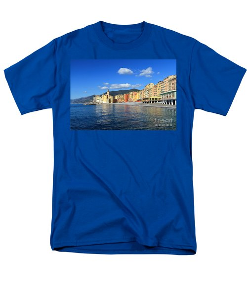 Men's T-Shirt  (Regular Fit) featuring the photograph Camogli - Italy by Antonio Scarpi