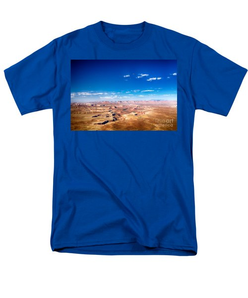 Men's T-Shirt  (Regular Fit) featuring the photograph Canyon Lands Best by Juergen Klust