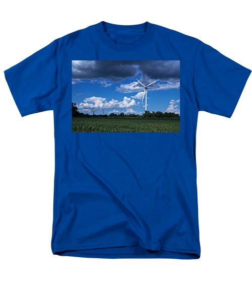 Capture The Wind Men's T-Shirt  (Regular Fit) by Dave Files