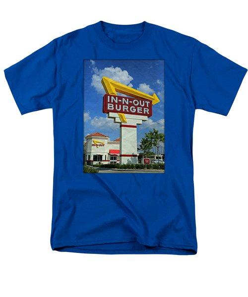 Classic Cali Burger 1.1 Men's T-Shirt  (Regular Fit) by Stephen Stookey