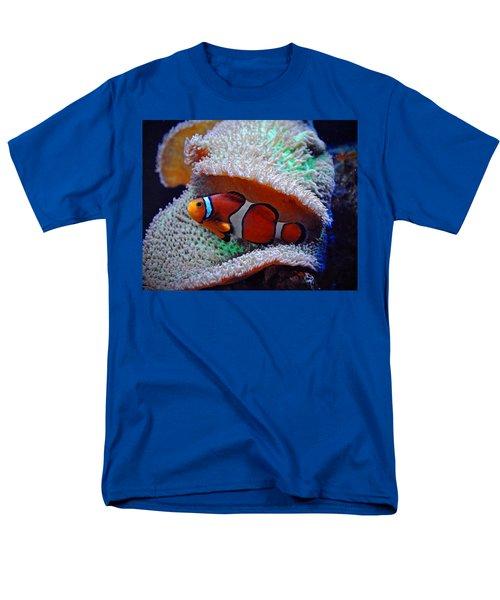 Men's T-Shirt  (Regular Fit) featuring the photograph Clown Fish by Savannah Gibbs