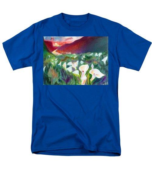 Coastal Callas Men's T-Shirt  (Regular Fit)