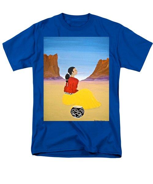 Contemplation Men's T-Shirt  (Regular Fit)
