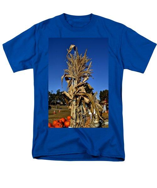 Men's T-Shirt  (Regular Fit) featuring the photograph Corn Stalk by Michael Gordon