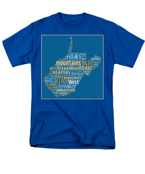 Country Roads 3 Men's T-Shirt  (Regular Fit) by Paulette B Wright