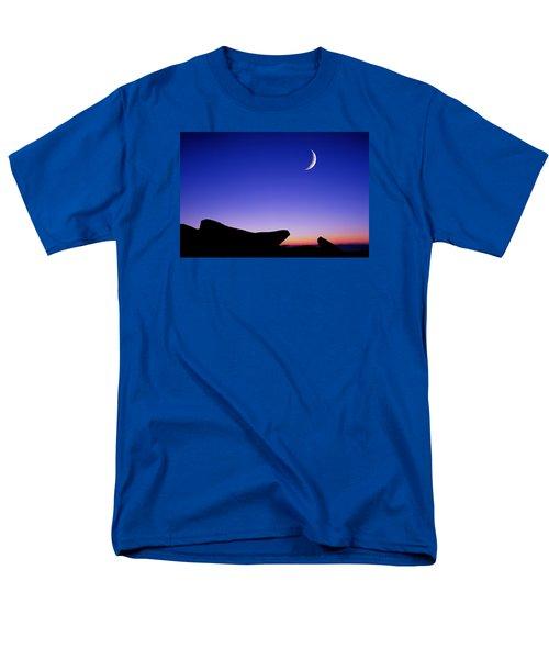 Crescent Moon Halibut Pt. Men's T-Shirt  (Regular Fit) by Michael Hubley