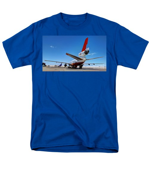 Men's T-Shirt  (Regular Fit) featuring the photograph Dc-10 Air Tanker  by Bill Gabbert