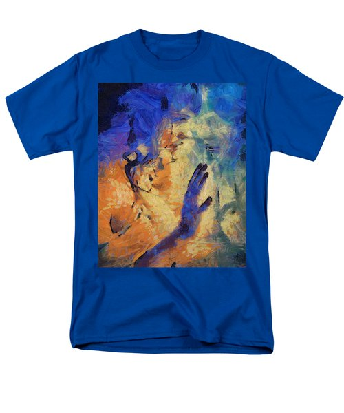 Men's T-Shirt  (Regular Fit) featuring the painting Discovering Yourself by Joe Misrasi
