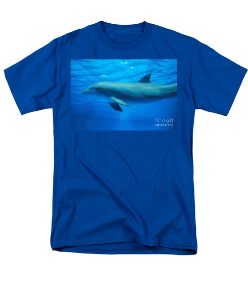 Dolphin Underwater Men's T-Shirt  (Regular Fit) by DejaVu Designs