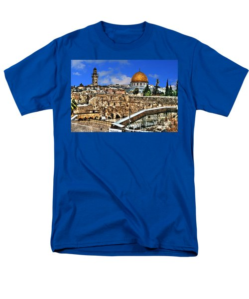Men's T-Shirt  (Regular Fit) featuring the photograph Dome Of The Rock by Doc Braham