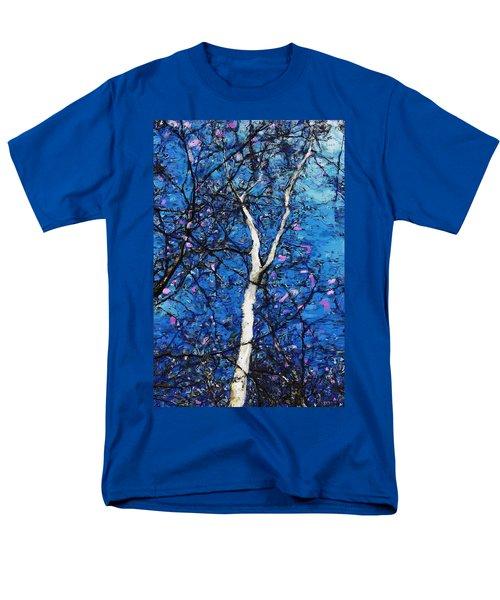 Men's T-Shirt  (Regular Fit) featuring the digital art Dreaming Of Spring by David Lane