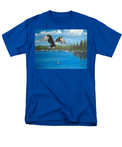 Eagle Attack Men's T-Shirt  (Regular Fit) by Norm Starks