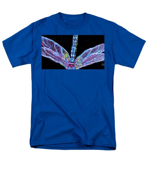 Ethereal Wings Of Blue Men's T-Shirt  (Regular Fit) by Kimberlee Baxter