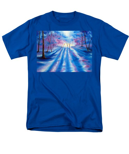 Men's T-Shirt  (Regular Fit) featuring the painting Evident by Meaghan Troup